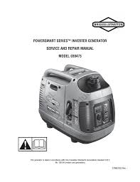 briggs u0026 stratton p2000 repair manual