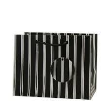 black and white striped gift bags cheap medium black gift bag find medium black gift bag deals on