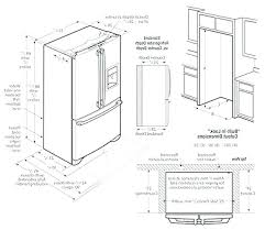 cabinet depth refrigerator dimensions cabinet depth refrigerator dimensions taraba home review