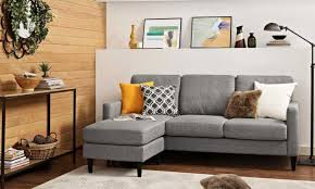 Overstock Sectional Sofas Loveseat Best Sectional Sofas For Small Spaces Overstock