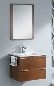 designer bathroom vanity fresca cielo 24 single modern bathroom vanity set with mirror