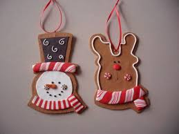 handmade polymer clay ornament crafts for holidays 07