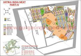Gurgaon India Map by Vatika India Next 4 Gurgaon Map Maps Of Vatika Projects