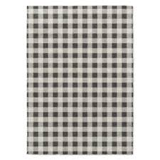 Black And White Checkered Rug Plaid Area Rugs You U0027ll Love Wayfair