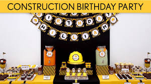 construction party ideas construction birthday party ideas construction b2