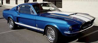 acapulco blue 1967 ford mustang shelby gt 500 fastback