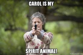 Carol Twd Meme - carol is my spirit animal carol twd make a meme