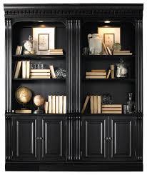 coffin bookshelf home extraordinary black bookcase with doors property ideas