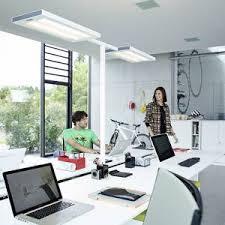 eclairage de bureau ladaire à led lavigo éclairage direct indirect de bureau