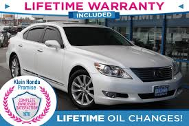 lexus leather warranty used 2011 lexus ls 460 at klein honda in everett wa