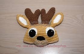 halloween hats for babies crochet baby deer bambi hat for newborn photo prop for baby