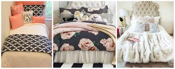 dorm bedding for girls cute dorm room bedding