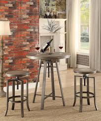 industrial bar table and stools rec room bar tables rustic industrial bar table 101811 pub