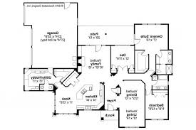 Southwestern House Plans Apartments Floor Plans With Garage On Side Southwest House Plans