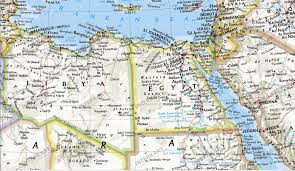 Map Of Benghazi Political Africa Map Large Size Africa Africa Wall Maps