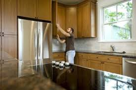 how to remove polyurethane from kitchen cabinets how to darken cabinets without removing polyurethane maple