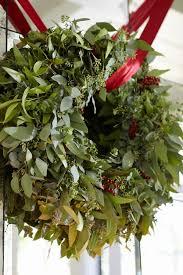 fresh christmas wreaths christmas wreaths 75 ideas for festive fresh burlap or mesh wreaths