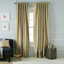 Gold Metallic Curtains Metallic Basketweave Curtain