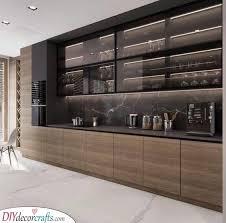 modern kitchen cabinet glass door modern kitchen cabinets 25 modern kitchen cabinet ideas
