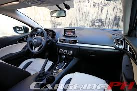 review 2015 mazda3 speed carguide ph philippine car news car