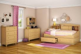 Daybed With Bookcase Awesome Twin Bedroom Set With Wooden Bookcase Daybed And Drawers
