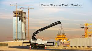 crane hire and rental services ppt download