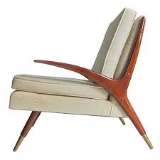 MidCentury Modern Chair In The Style Of Franco Albini Modern - Mid century furniture