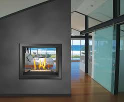 contemporary modern gas fireplace insert stand alone gas