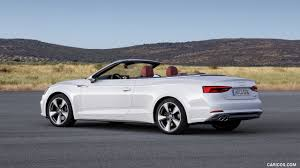 convertible audi white 2018 audi a5 cabriolet color glacier white rear three quarter