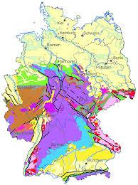 map of deutschland germany bgr germany