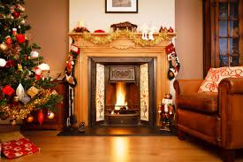 fireplaces decor with christmas fireplace decorations christmas