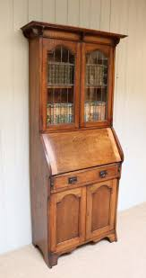 Arts And Craft Bookcase Arts And Crafts Solid Oak Bureau Bookcase C 1900 English From