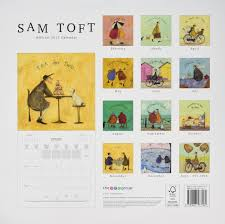 M To Ft by Sam Toft Calendar 2017 Square Amazon Co Uk 9781847577160 Books