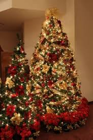 christmas trees decorated with red ribbon 20 magnificent ideas for