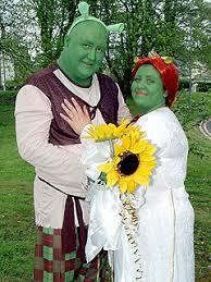 themed weddings goes green 8211 as em shrek em characters 8211 for