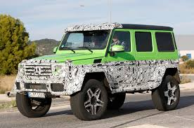 spied mercedes g class prototype sports g63 amg 6x6 parts