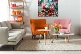 Orange Armchair Make Your Guests Impressed With These Fabulous Mid Century Living