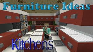 minecraft kitchen furniture minecraft furniture ideas 4 kiwi designs for kitchen furniture