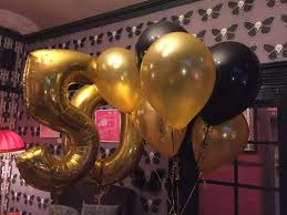 50th birthday balloons delivered for balloon wise