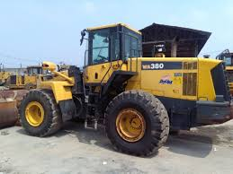2010 used komatsu wa380 6 wheel loader 3 0 cbm capacity 7546 hours
