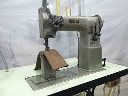 pfaff twin needle post bed needle feed heavy duty industrial