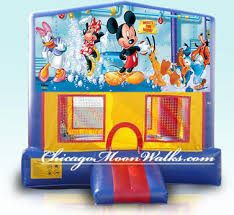 chicago party rentals disney mickey mouse bounce house rental chicago party rental in