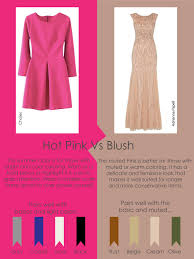 color lesson pink vs blush fit u0026 style