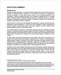 business continuity planning resume business plan templates