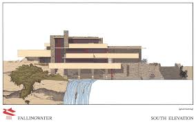 simply falling water house by flw album on imgur