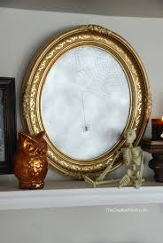 Spooky Halloween Mirror without a mirror The Creative Mom