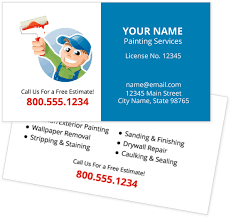 Business Cards Painting Custom Stone Work Business Cards Youprint Com