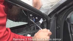 how to remove side mirror toyota camry 2012 2013 2014 youtube
