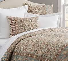 What Do You Put Inside A Duvet Duvet Covers U0026 Pillow Shams Pottery Barn