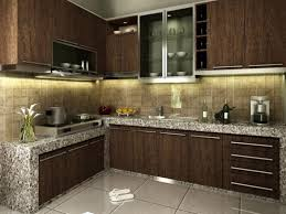 affordable kitchen furniture affordable minimalist brown kitchen design 4 home ideas